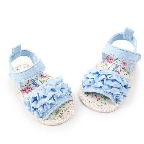 Baby Flower Sandals Shoe Casual Shoes Sneaker Anti-slip Soft Sole Toddler Shoes