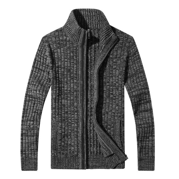 mens cardigan sweater famous brand clothing slim fit zipper male sweaters top quality cardigan for men