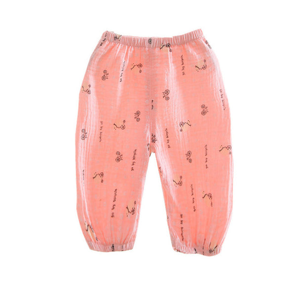 Baby Pants Anti-mosquito for Newborn baby clothes Light Cotton baby leggings girl boy pant Baby Summer bebe clothing bloomers