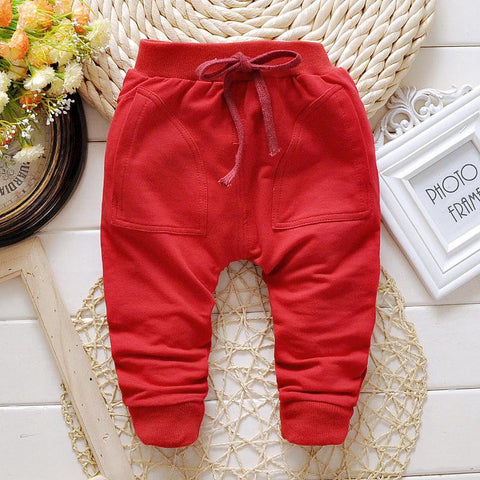 Spring Autumn baby pants 3 Colors Cotton star pattern kids pants  baby boy girls pants