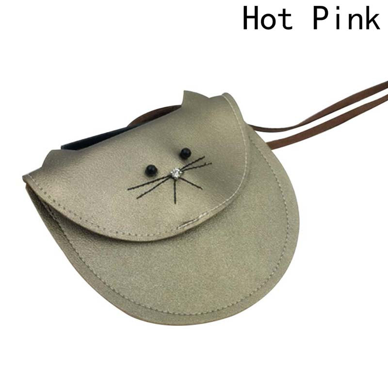Luggage & Bags Purses & Wallets Hottest Small Cat Messenger Bag For Kids Baby Girls Cute Cat Coin Purse Mini Shoulder Bag Children Small Bag