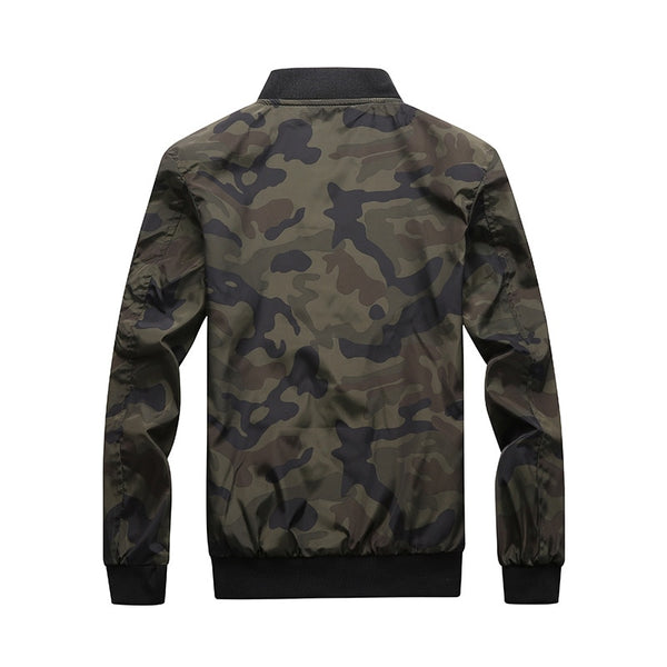 autumn new tactical jacket man stand collar camouflage high quality casual jacket men's brand Outerwear size M- 6XL 7XL