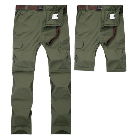 Detachable Quick Dry Men Pants Summer Military Active Multifunction Trousers Pockets Men Casual Cargo Pants Plus Size  7XL