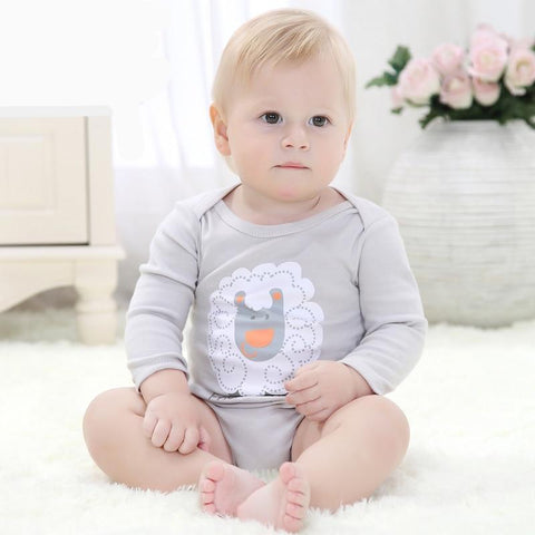 Baby Winter Baby Clothes Soft 100% Cotton New Born Baby Boy Bodysuit Tiny Cotton Baby Clothes Onesie