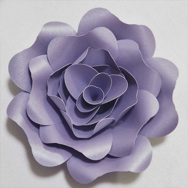 DIY Artificial Large Paper Rose Flowers Backdrop 15-50cm Full Kits For Wedding & Event Baby Nursery Decor With Video Tutorials