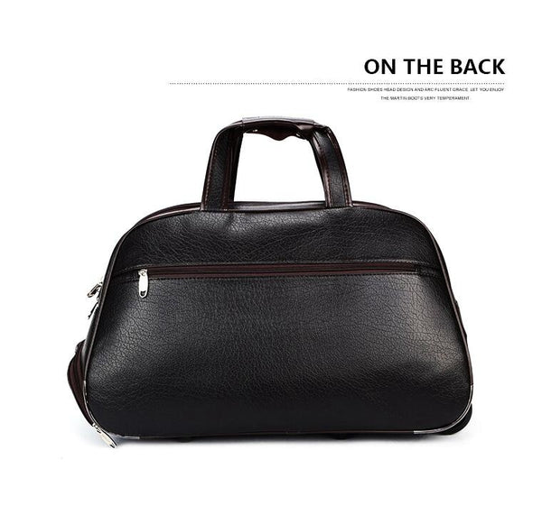 Men Wheeled Travel bags travel trolley bags on wheels Boarding luggage bags for men Rolling Bag with wheels Man travel Duffel