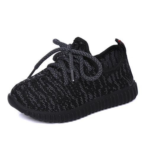 Toddler Boy Summer Children Girl Shoes Outdoor Running Sneakers Breathable Mesh Sport Shoes for Girls Boys Black School Shoes