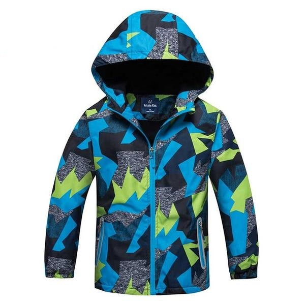 2923068b6 New Cool Spring Fashion Children's Jacket Coat Winter Kids Boys Rain  Outerwear Sporty Hoodie Clothes Double ...