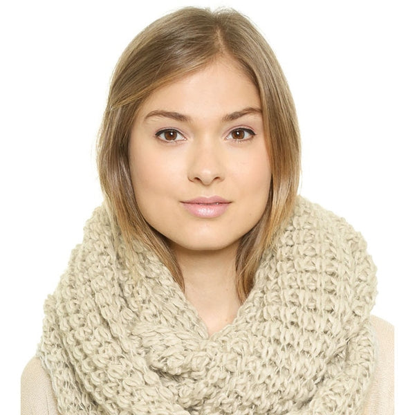 Knitting Scarf Women Solid 4 Color New Autumn Fashion Pullover Soft Warm Casual