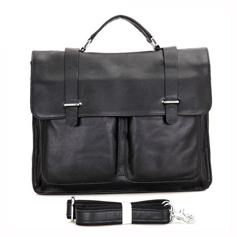 Men Briefcase Genuine leather Business Shoulder Bags Quality Stylish Brand Handbags Tote Bag for Man