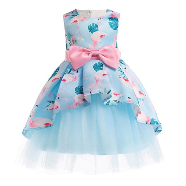 Baby Girl Princess Dress Kids Lace Autumn Winter Flower Wedding Party Dresses For Toddler Girl Children Clothing