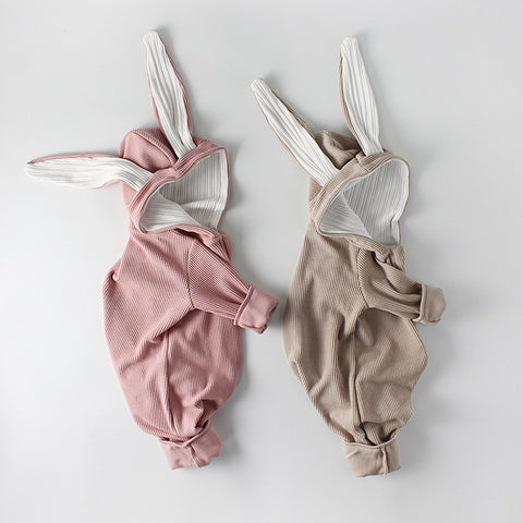 Baby Clothes Rabbit Style Baby Girls Rompers Cute Bunny Ear Baby Boys Romper Cotton Newborn Baby Clothes Jumpsuits