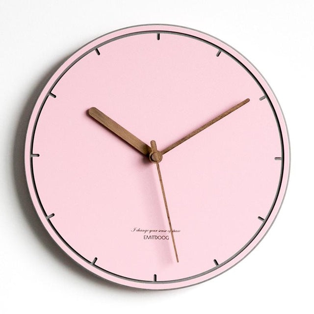 Modern Minimalist Creative Wall Clock Living Room Bedroom Home Decoration  Accessories Nordic Clocks Silent Wall Watches