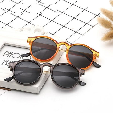 Round Sunglasses Men Women Unisex Retro Vintage Design Small Sun Glasses for men Driving Sunglass Ladies Shades