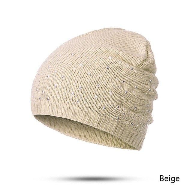 4ca688ed winter autumn beanie hats women soft knitting skullies beanies hat fem |  JOHNKART.COM. }