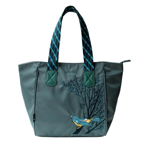 Embroidery Large Capacity Tote Shoulder Handbag Women High Quality Girls Ladies Hand Bags