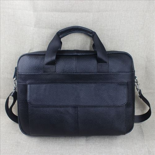 Luxurious Leather Business Briefcase for Men New Arrivals Men Messenger Bag with Soft Handle Computer Laptop Bag