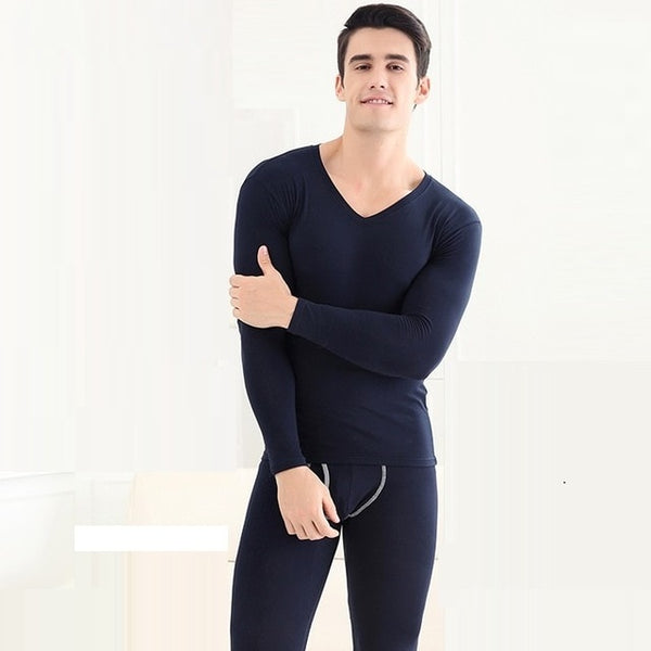 Long Johns men and women thermal Underwear thin modal soft and elastic Shaper bodybuilding under wear sets Size L to 3XL