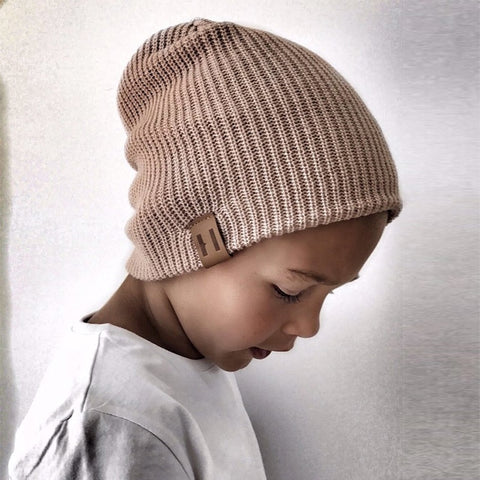 5ef303a45d200 New Arrival Kids Girl Boy Winter Hat Baby Soft Warm Beanie Cap Crochet  Elasticity Knit Hats