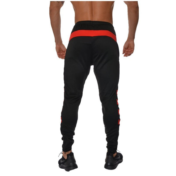 men's new fashion cotton trousers leisure stretch cotton trousers gym fitness new bodywear