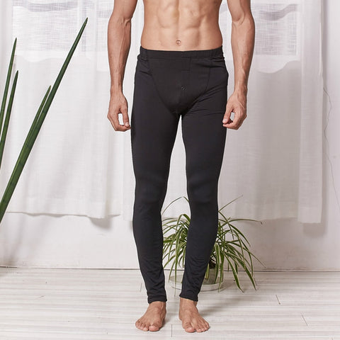 Homewear Warm Men's Long Johns Thermal Underwear Pants Thick Long Johns Underpants Hombre Warm Winter Clothes Hombre Pants