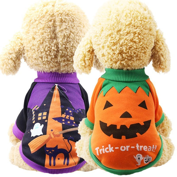 Cat Clothes Halloween Carnival Funny Pet Clothes Winter Jacket Dog Halloween Costume outfit for Small dogs Cats two feet clothes