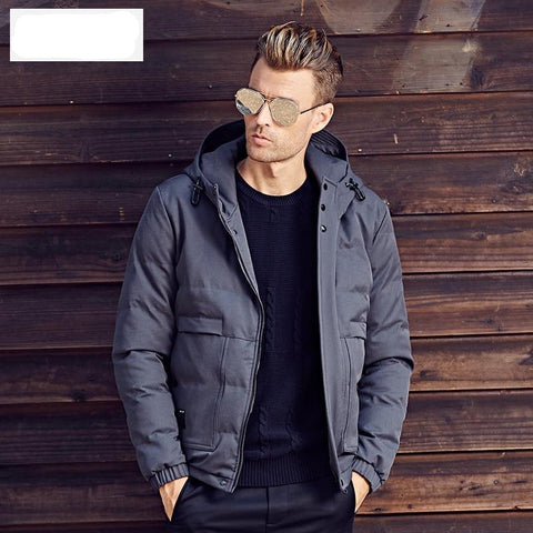 Winter Cotton Padded Hooded Jacket Men warm Parka coat Men 3XL Thick Quilted Coat Mens Hoodies WT0247