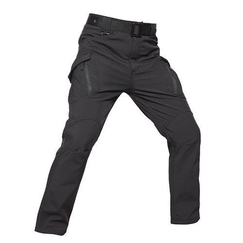 fc7a9de7618 Tactical Softshell Pants Men Winter Warm Fleece Military Style Camo Combat  Duty Trousers Cargo Trousers Male AG-PLY-52
