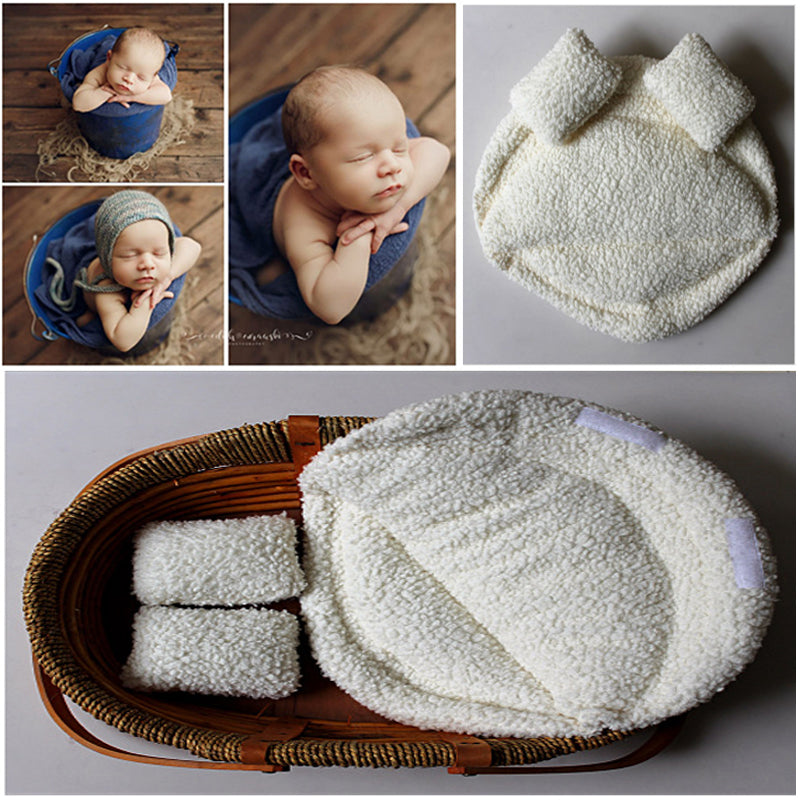 235fe10c8b233 New Newborn Photography Props Baby Posing Pillow Newborn Basket Props Baby  Photography Studio Infant Photoshoot Accessories
