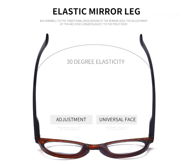Women Reading Glasses  Magnifier Men Eyewear Polycarbonate Vision Clear Presbyopic Lightweight Diopter +1.0 to +4.0