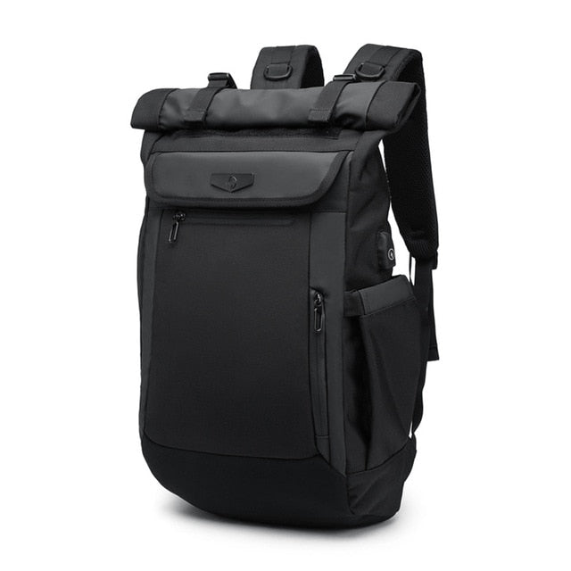 a9ce0c6f058c JOHNKART.COM.  58.03 USD. New Multifunction Men Backpack USB Charging  Laptop Backpacks for Teenager Fashion Schoolbag waterproof ...