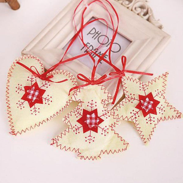 Christmas Tree Decoration Non-woven Sewing Accessories new year decorations merry christmas decoration ornaments christmas