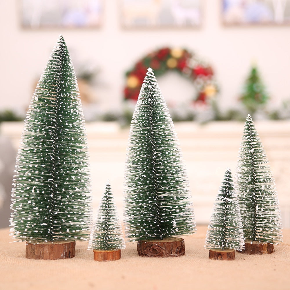 5 size christmas tree christmas decorations supplies small pine tree placed in the desktop diy decoration