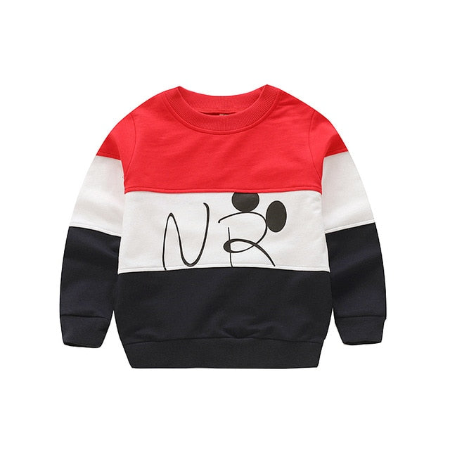 Spring autumn stripe boys t shirt long sleeve brand t-shirts for girls cotton children boy clothes baby shirt