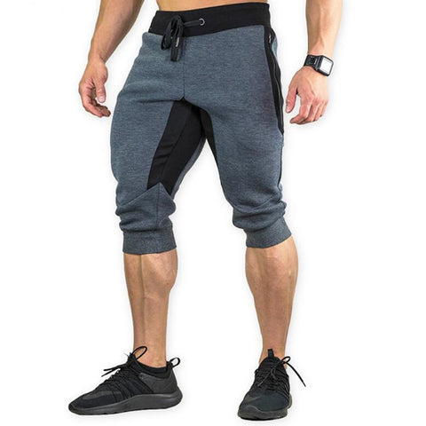 Autumn Brand Gyms Calf Length Pants Men Joggers Casual Sweatpants Trousers Sporting Clothing high quality Bodybuilding Pants