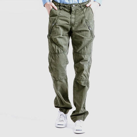 Men Casual Pants Military Cargo Male Army Tactical Style Trousers Military Pants Zipper Military Trousers   Cargo pants