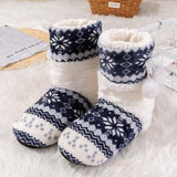 New Arrival Winter  Print Warm Plush Home Slippers Cute Ball Indoor Shoes Women Slippers High Quality 6 Color