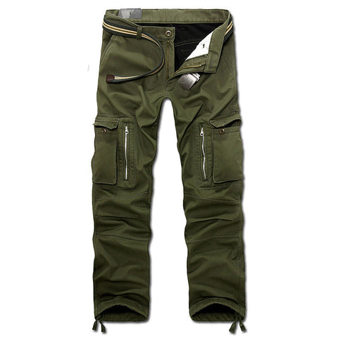 New men winter pants men's cargo pants baggy trousers 3 colors AXP112