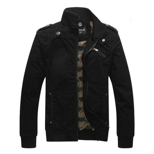 Men Military Jackets And Coat Casual Male Bomber Outerwear AXP165