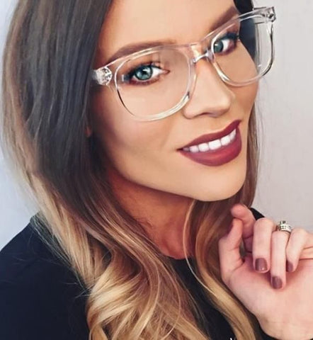 Eyeglasses Women Transparent Clear Frame Glasses Retro Clear Optical Eye Glasses Spectacle Frames Men Female Frame Glasses