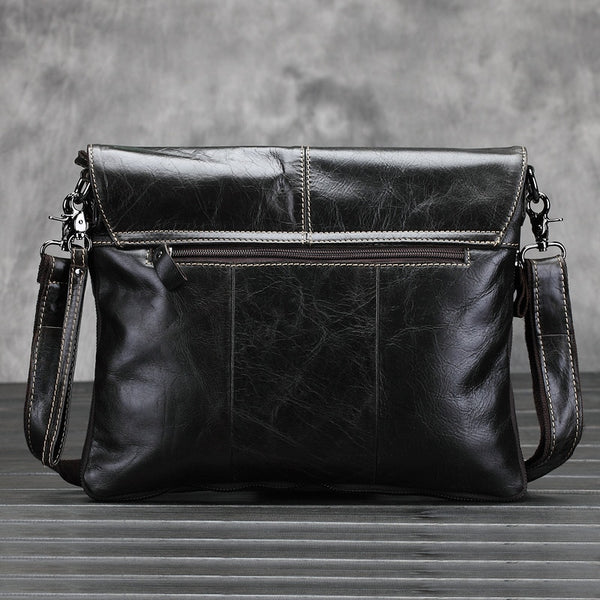 New Genuine Leather Men Bag Men Messenger Bags Shoulder Crossbody Bags for Man Handbag Casual Men's Leather Bag Hot Sale