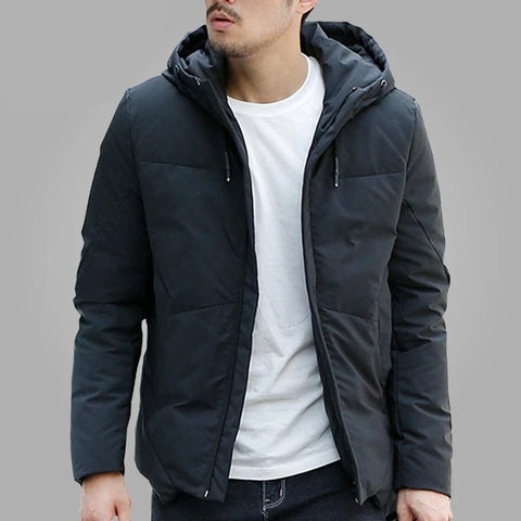 Winter Jacket Men Warm Padded Hooded Overcoat Casual Brand Down Parka Men's Jacket And Coat Hoodies Outerwear Plus Size