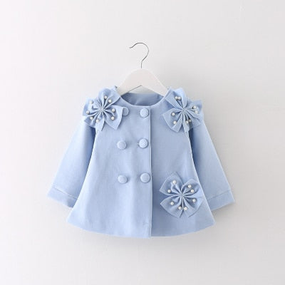 new girls coat winter autumn baby girl cute princess newborn clothes baby coat birthday gift