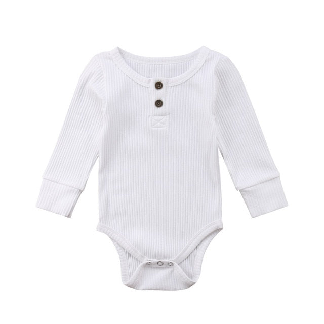 Long Sleeve Baby Grow//Suit White Plain baby boy//girl All sizes!!