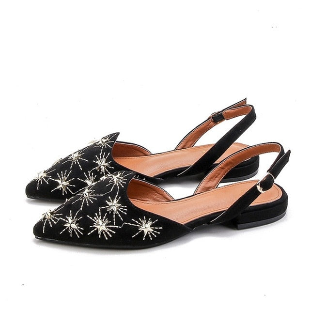 30138cd6d0c8fe JOHNKART.COM.  36.15 USD. Handmade Fashion Rive Shallow Slippers Women  Mules Shoes Spring Autumn ...