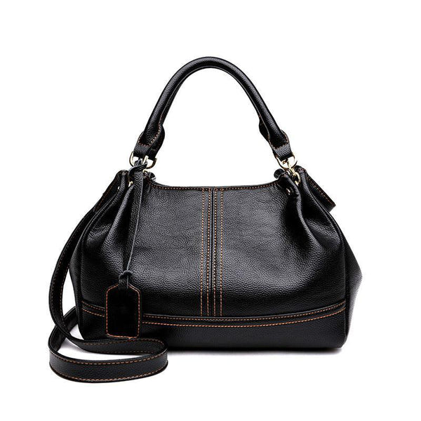 Women New Fashion Handbag Casual Crossbody Bags Hobos Shoulder Bag Genuine Leather Europe Female Large Tote Bag