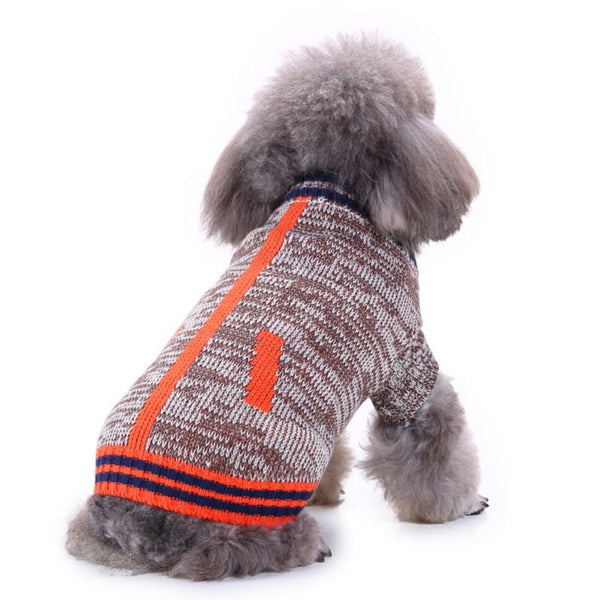 Christmas Pet dog clothes Autumn winter pet clothing hoodies coat dog Sweaters pet winter warm thick coat