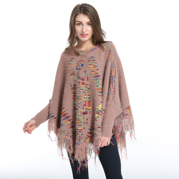 Autumn And Winter Tassels Woman Cloak Shawl European Fashion Keep Warm manteau foulard femme hiver linen scarf women pashmina