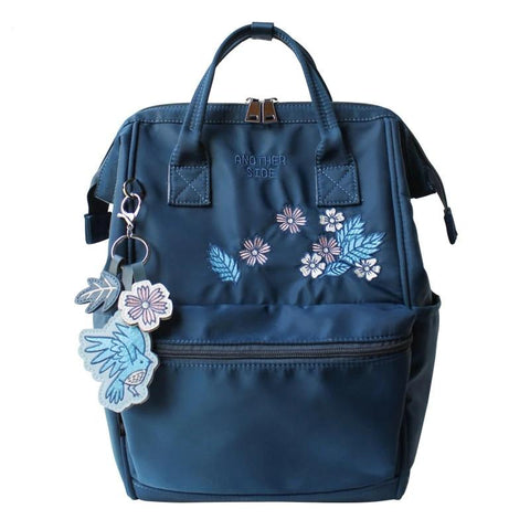 Flower Princess Backpacks Woman Ornaments Female School Backpack School Bags for Teenage Girls Travel Casual Nylon Women Bag