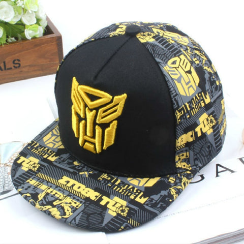 New Embroidery Transformer Cap Super Hero Baseball Caps Kids Hats Boy Girls Hip Hop Hat K-pop Hats Snapback Caps Bts La Cap